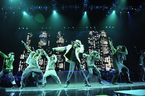 """Michael Jackson in """"Michael Jackson's This Is It."""""""