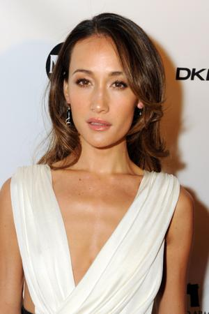 "Maggie Q at the New York premiere of ""New York, I Love You."""