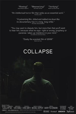 "Poster art for ""Collapse."""