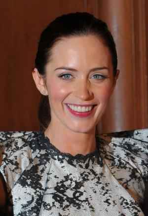 """Emily Blunt at the California premiere of """"The Young Victoria."""""""