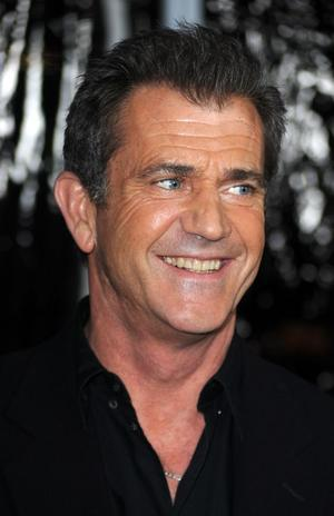 "Mel Gibson at the California premiere of ""The Edge Of Darkness."""