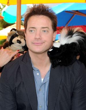 """Brendan Fraser at the after party of the California premiere of """"Furry Vengeance."""""""