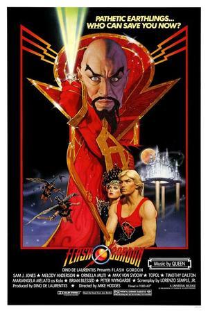 """Poster art for """"Flash Gordon."""""""