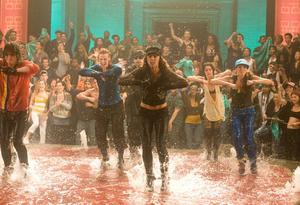 "Adam Sevani, Kendra Andrews, Sharni Vinson, Tamara Levinson and Ashlee Nino in ""Step Up 3-D."""