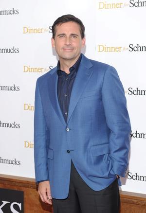 """Steve Carell at the New York premiere of """"Dinner For Schmucks."""""""