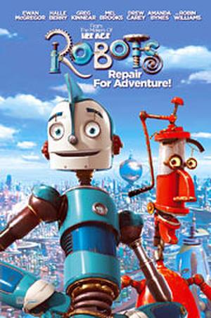 "Poster art for ""Robots."""