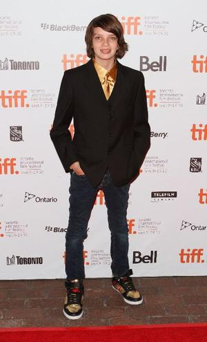 "Kodi Smit-McPhee at the Canada premiere of ""Let Me In."""