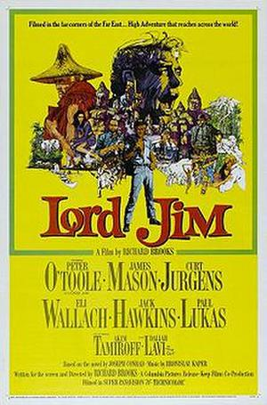 """Poster art for """"Lord Jim"""""""