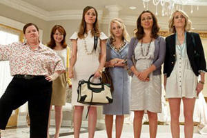 "A scene from ""Bridesmaids."""