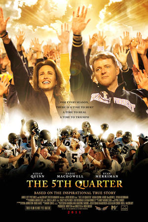"Poster art for ""The 5th Quarter."""