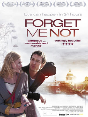 "Poster art for ""Forget Me Not."""