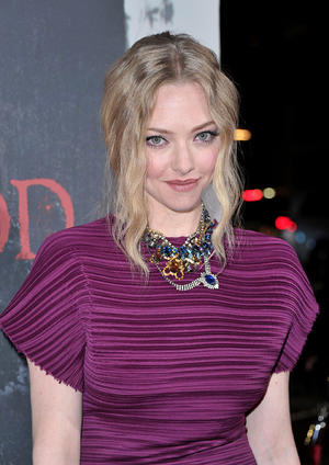 "Amanda Seyfried at the California premiere of ""Red Riding Hood.''"