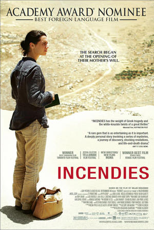 "Poster art for ""Incendies."""