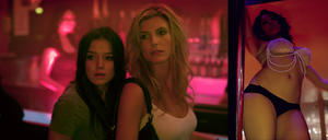 """Viva Bianca as Holly and Holly Mangan Lawrence as Shay in """"X."""""""