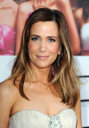 "Kristen Wiig at the California premiere of ""Bridesmaids."""