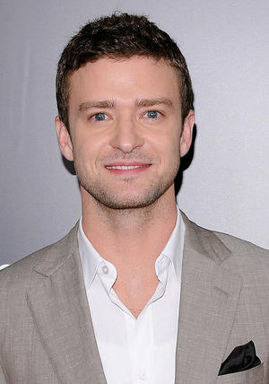 "Justin Timberlake at the New York premiere of ""Friends With Benefits."""