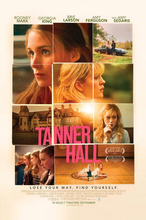"Poster art for ""Tanner Hall."""
