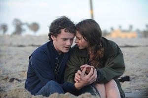 "Anton Yelchin and Felicity Jones in ""Like Crazy."""