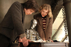 "Chloe Moretz and Asa Butterfield in ""Hugo."""