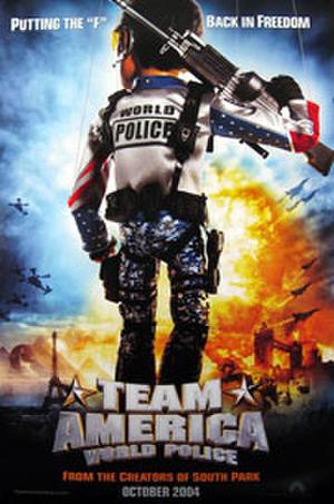 """Poster art for """"Team America: World Police'"""""""