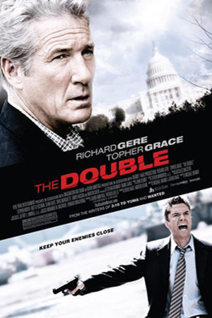 Poster art for 'The Double.'