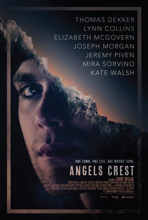 "Poster art for ""Angels Crest."""