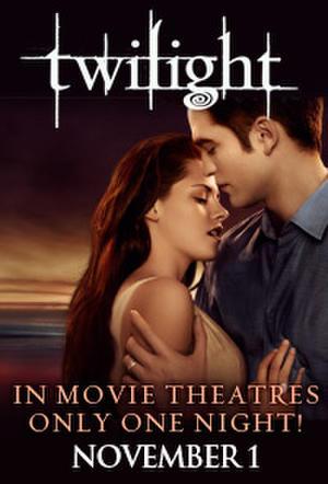 "Poster art for ""Twilight Saga Tuesdays: Twilight."""