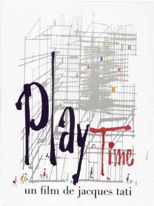 "Poster art for ""Playtime."""
