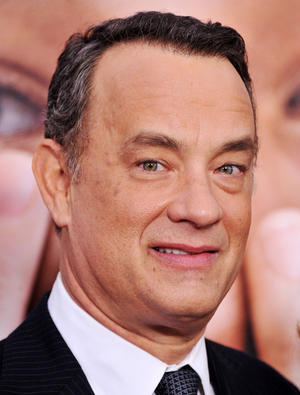 "Tom Hanks at the New York premiere of ""Extremely Loud & Incredibly Close."""