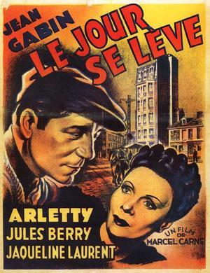 """Poster art for """"Le Jour Se Leve."""""""