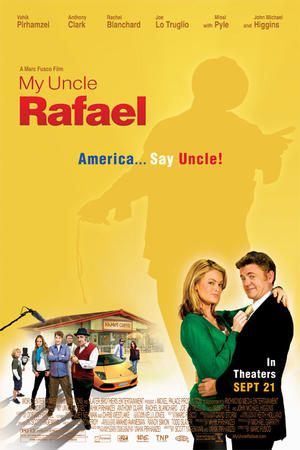 "Poster art for ""My Uncle Rafael."""
