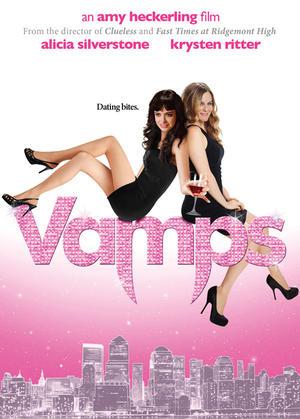 """Poster art for """"Vamps."""""""