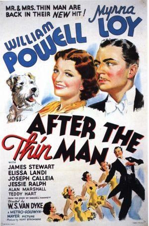 "Poster art for ""After the Thin Man."""