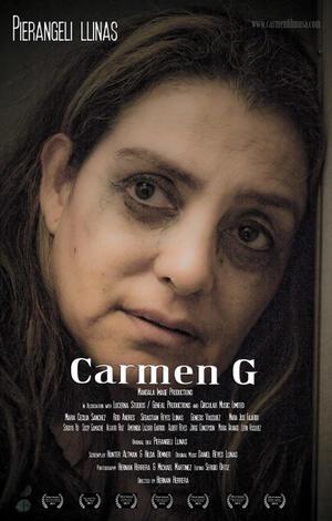 """Poster art for """"Carmen G."""""""