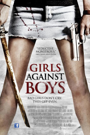 "Poster art for ""Girls Against Boys."""