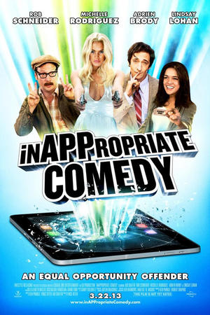 """Poster art for """"InAPPropriate Comedy."""""""
