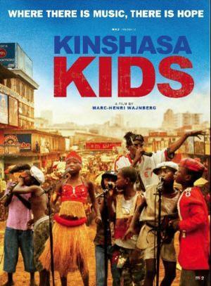 """Poster art for """"Kinshasa Kids."""""""