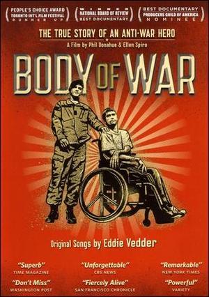"Poster art for ""Body of War."""