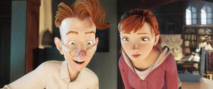 """Bomba voiced by Jason Sudeikis and Mary Katherine voiced by Amanda Seyfried in """"Epic."""""""