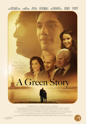 """Poster art for """"A Green Story."""""""