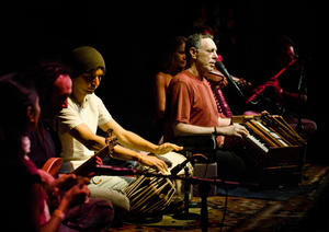 "Krishna Das in ""One Track Heart: The Story of Krishna Das."""
