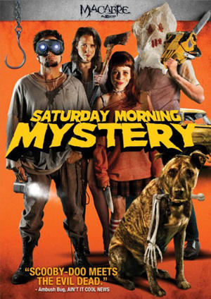 "Poster art for ""Saturday Morning Mystery."""