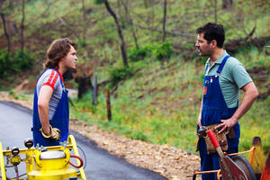"""Emile Hirsch and Paul Rudd in """"Prince Avalanche."""""""