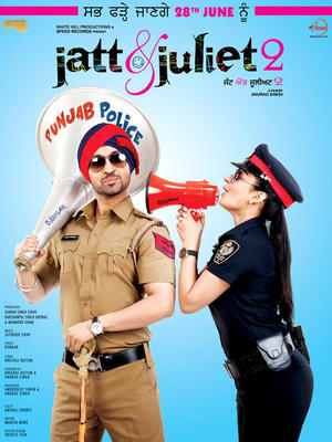"Poster art for ""Jatt & Juliet 2."""