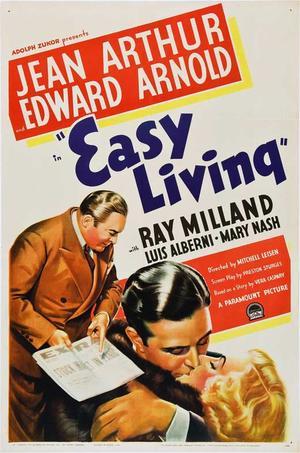 """Poster art for """"Easy Living."""""""