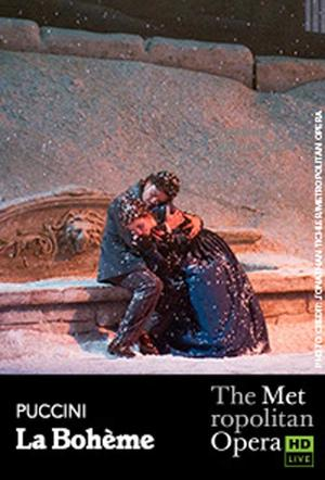 "Poster art for ""The Metropolitan Opera: La Boheme."""
