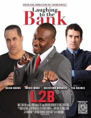 "Poster art for ""Laughing to the Bank."""