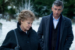 "Judi Dench and Steve Coogan in ""Philomena."""