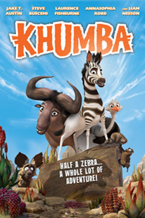 "Poster art for ""Khumba."""