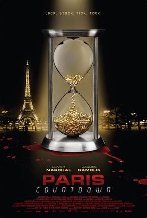 "Poster art for ""Paris Countdown."""